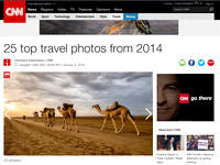 CNN Top 25 Travel Photos 2014